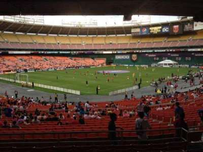RFK Stadium, section: 314, row: 8, seat: 8