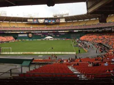 RFK Stadium, section: 318, row: 9, seat: 7