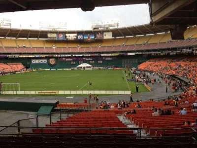RFK Stadium, section: 318, row: 9, seat: 7