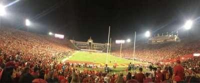 Los Angeles Memorial Coliseum, section: 15L, row: 23, seat: 13