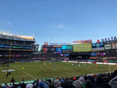 Yankee Stadium, section: 116, row: 11, seat: 5