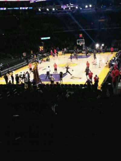 Staples Center section 207