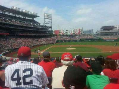 Nationals Park, section: 128, row: EE, seat: 15