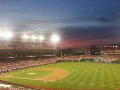 Nationals Park, section: 223, row: K, seat: 9