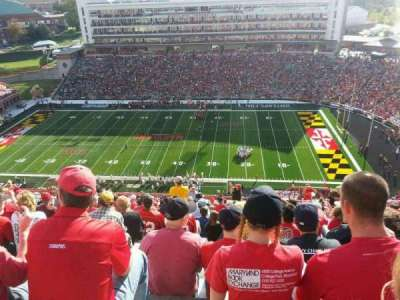 Maryland Stadium, section: 308, row: W, seat: 4