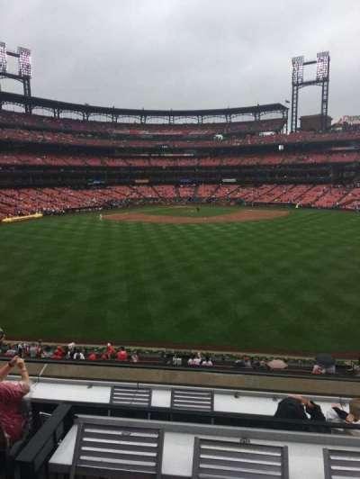 Busch Stadium, section: SBP, row: 3, seat: 41