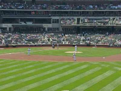 Citi Field, section: 143, row: 2, seat: 7