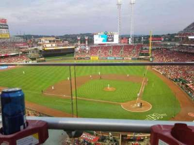 Great American Ball Park, section: 420, row: A, seat: 5