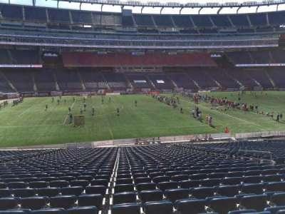Gillette Stadium, section: 112, row: 34, seat: 12