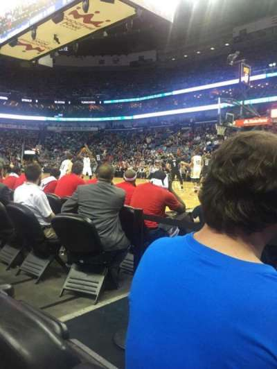 Smoothie King Center, section: 111, row: 3, seat: 2