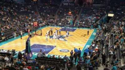 Spectrum Center, section: L01, row: B, seat: 5