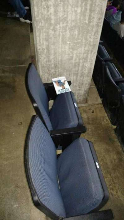 Spectrum Center, section: 116, row: DD, seat: 37,38