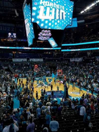 Spectrum Center, section: 101, row: R, seat: 12