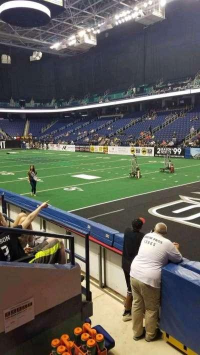 Greensboro Coliseum section 114
