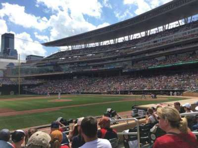 Target Field, section: 14, row: 9, seat: 5