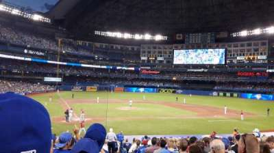 Rogers Centre, section: 119L, row: 27, seat: 101