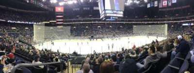 Nationwide Arena, section: 115, row: U, seat: 19