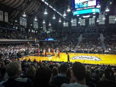 Hinkle Fieldhouse section 106