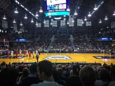Hinkle Fieldhouse, section: 106, row: 14, seat: 5