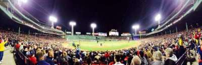 Fenway Park, section: Loge Box 128, row: AA, seat: 4