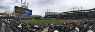 Progressive Field section 170