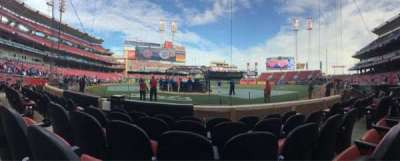 Great American Ball Park, section: 4, row: E, seat: 5