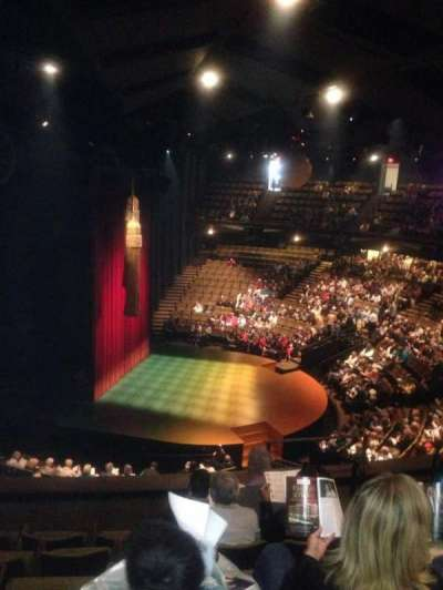 Stratford Festival, section: Balcony aisle 2, row: F, seat: 166