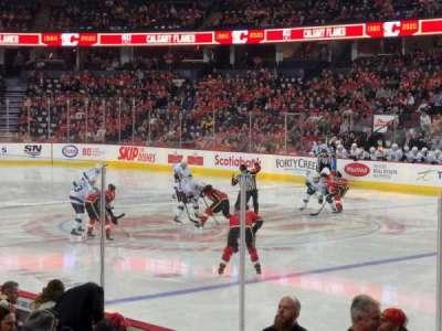 Scotiabank Saddledome, section: 122, row: 9, seat: 10