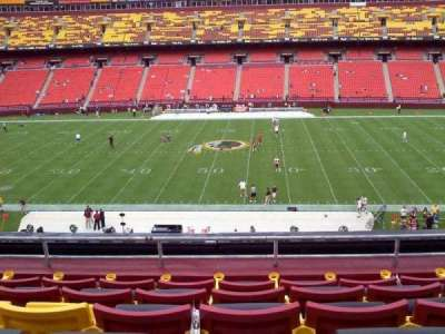 FedEx Field, section: 342, row: 5