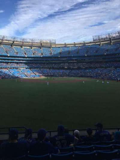 Rogers Centre, section: 140, row: 7, seat: 2
