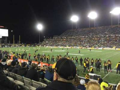 Tim Hortons Field, section: 103, row: 8, seat: 23