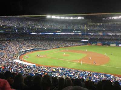 Rogers Centre, section: 216L, row: 12, seat: 107