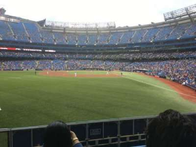 Rogers Centre, section: 136L, row: 2, seat: 107