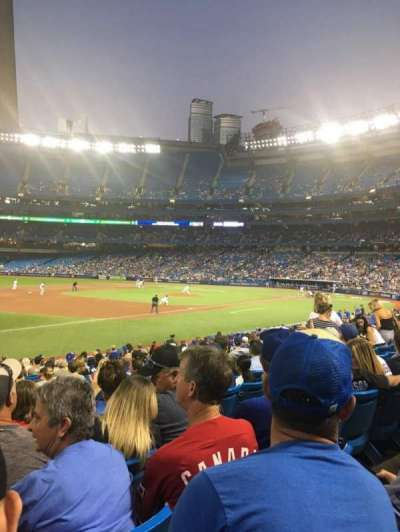 Rogers Centre, section: 130L, row: 22, seat: 105