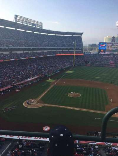 Angel Stadium, section: V425, row: BB, seat: 9