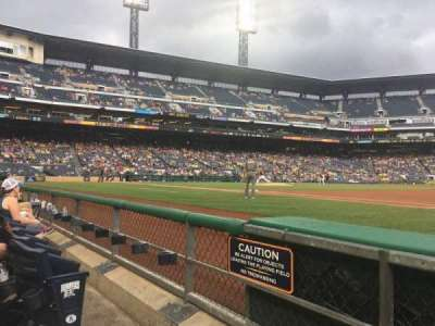 PNC Park, section: 7, row: B, seat: 10