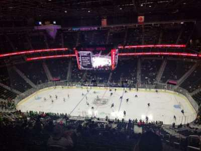 T-Mobile Arena, section: 224, row: Q, seat: 17
