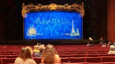 San Diego Civic Theatre, section: Orchestra, row: O, seat: 6