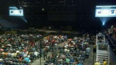 Rupp Arena, section: 20, row: J, seat: 1