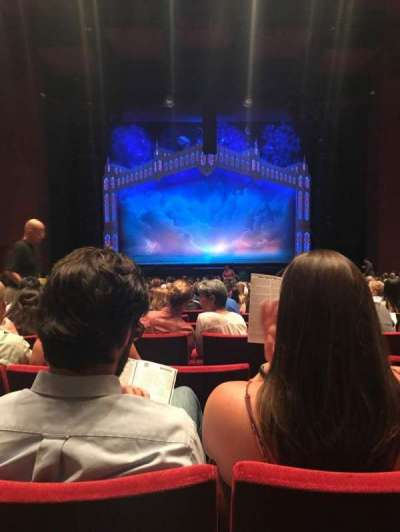 San Diego Civic Theatre, section: Orch1, row: V, seat: 5