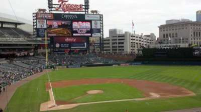 Comerica Park, section: Suite 117, row: 1, seat: 9