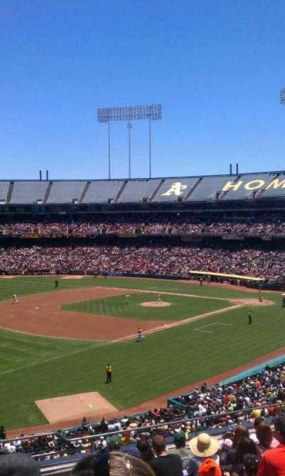 Oakland Alameda Coliseum section 228