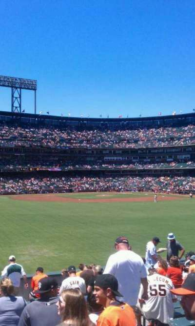 AT&T Park, section: 141, row: 14, seat: 5