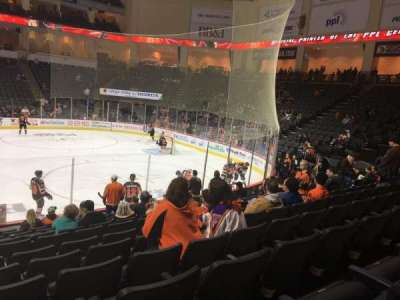 PPL Center, section: 103, row: 13, seat: 18
