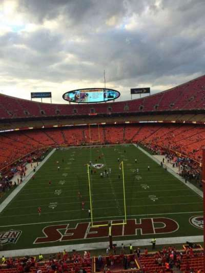 Arrowhead Stadium section 313