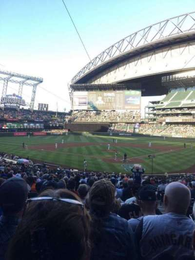 T-Mobile Park, section: 132, row: 34, seat: 2