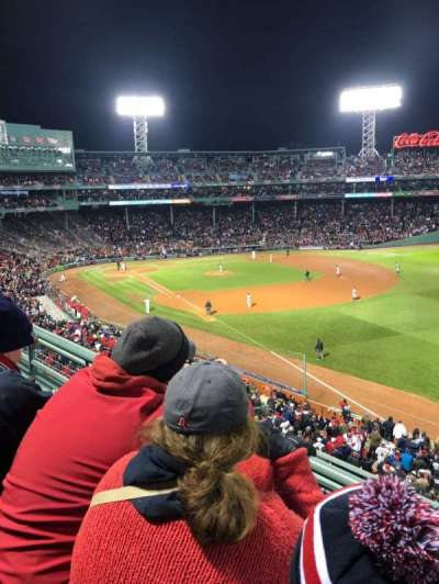Fenway Park section Right Field Roof Deck Box 25