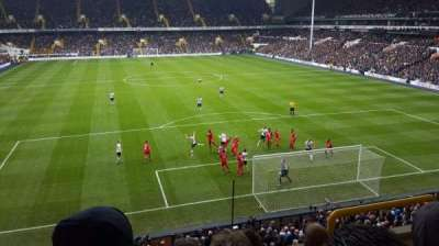 White Hart Lane, section: 44, row: 4, seat: 148