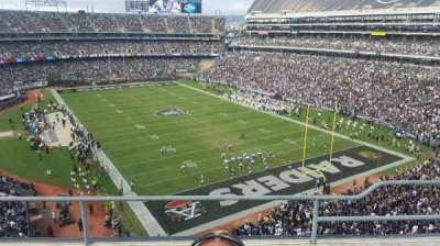 Oakland Alameda Coliseum, section: 309, row: 3, seat: 4