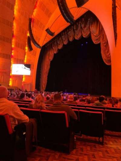 Radio City Music Hall, section: Orchestra 1, row: QQ, seat: 109